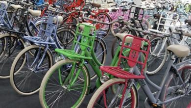 Elektrische dames of heren fietsen